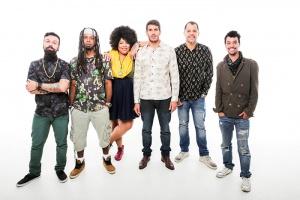 Destaque do programa 'SuperStar', a banda niteroiense Devir faz show no Rival