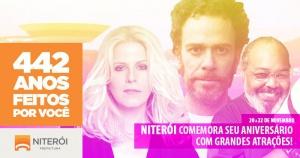 Niterói completa 442 anos com atrações em várias regiões da cidade
