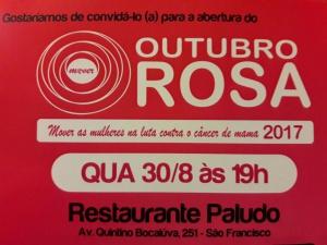 Outubro Rosa – Atividades e programação especial em Niterói