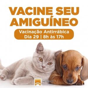 Campanha de Vacinação Antirrábica gratuita em Niterói