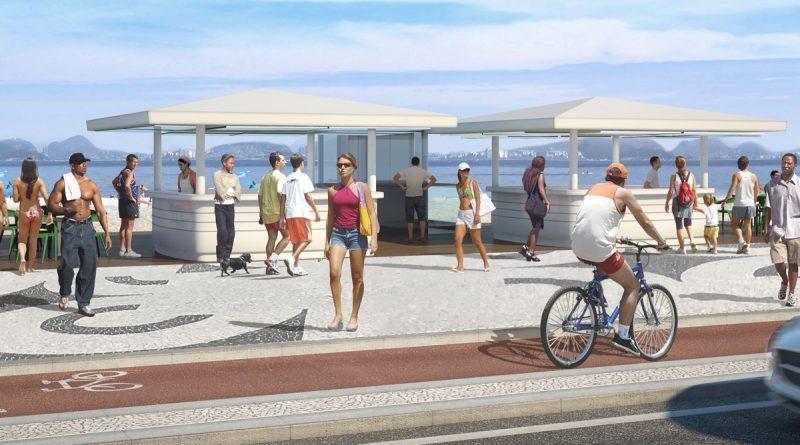 Consulta pública define novo modelo de quiosque da Praia de Icaraí