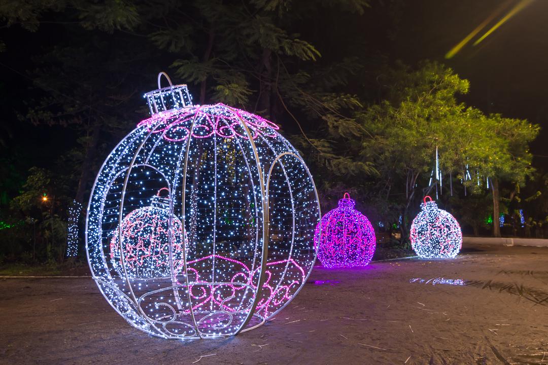 Confira os pontos de decoração natalina em Niterói