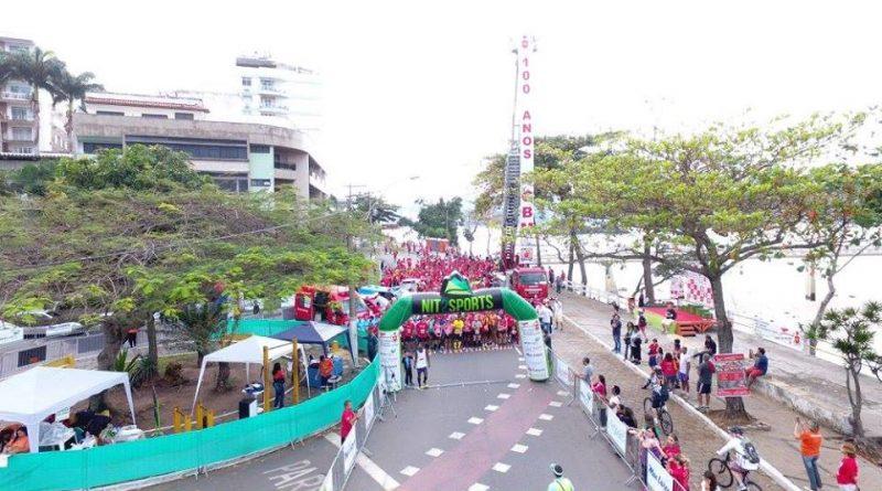 Corrida e Caminhada Soldado do Fogo em Niterói