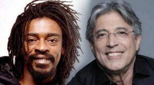 """Seu Jorge e Ivan Lins participam do lançamento do DVD """"Arthur Maia ao Vivo"""", no Teatro Municipal de Niterói"""