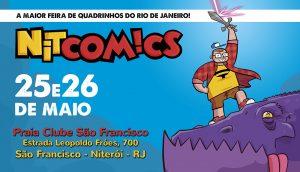 Nitcomics, evento de quadrinhos em Niterói, acontece neste final de semana