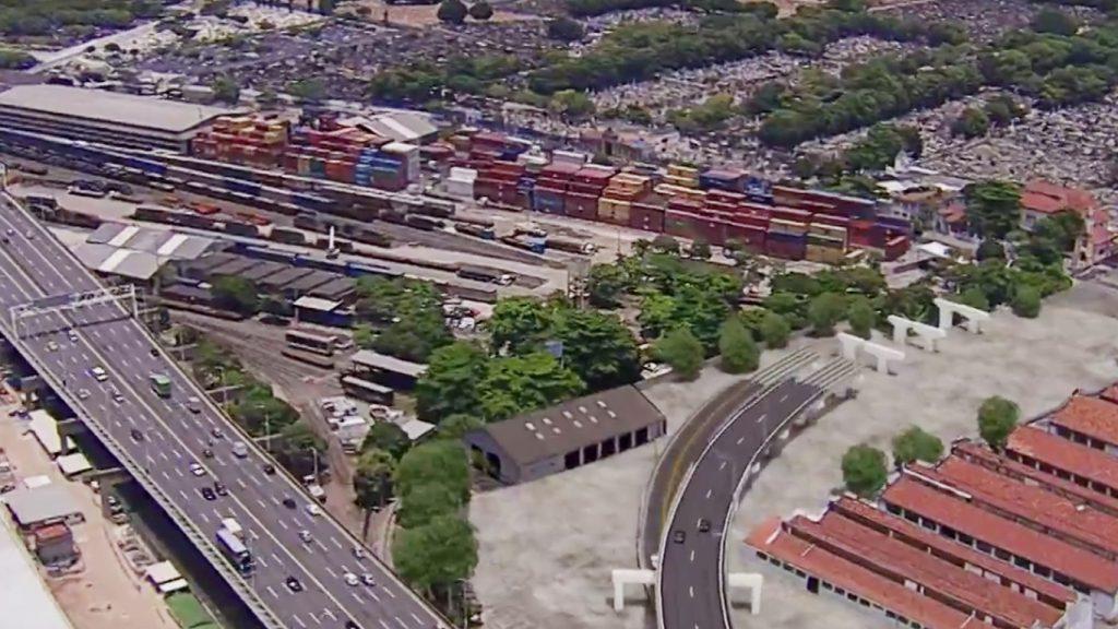 Alça de acesso da Ponte Rio-Niterói para a Linha Vermelha será entregue até o fim do ano