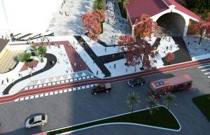 Com obras na praça Arariboia, prefeitura remodela mais uma porta de entrada da cidade