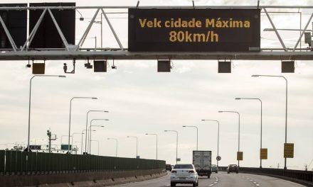 Radares na Ponte Rio-Niterói continuam multando excesso de velocidade