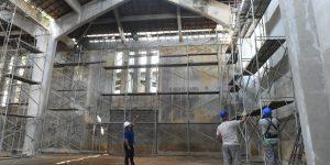 Restauração do Prédio do Mercado Municipal da Feliciano Sodré tem trabalho meticuloso para manter características Art Déco