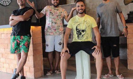Pagode gratuito no Horto do Fonseca