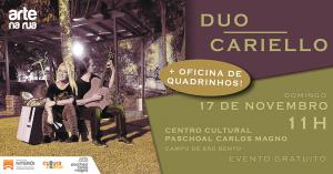 Duo Cariello, no Campo de São Bento