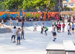 Competição de skate agita a Zona Sul de Niterói neste domingo
