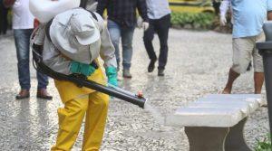 Empresa de sanitização que atuou na China trabalhará em Niterói