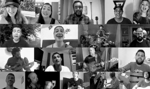 Artistas de Niterói se unem em canção de esperança