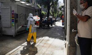 Niterói inicia nova fase da sanitização