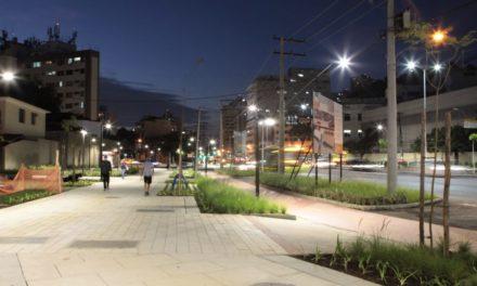 Obras na Avenida Marquês do Paraná são concluídas