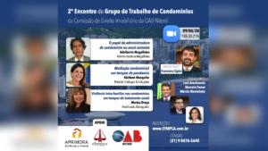 2º Encontro do Grupo de Trabalho da Comissão de Direito Imobiliário da OAB-Niterói
