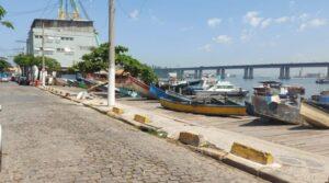 Cais da Ponta D'Areia mais perto da revitalização