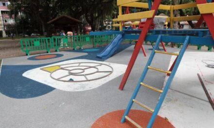 Campo de São Bento sendo preparado para comemorar o aniversário de Niterói