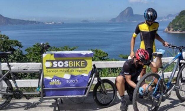 Projeto oferece reparos gratuitos em bicicletas nas ciclovias e na orla de Niterói