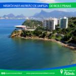 Niterói fará mutirão de limpeza de rios e praias